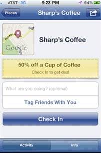 Will Facebook's deals platform drive more location based service usage?