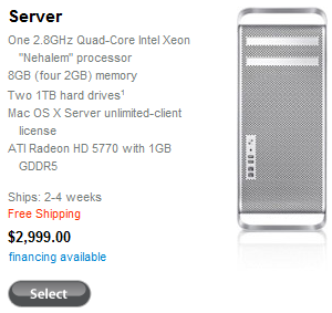 Apple Xserve No Longer Available Beginning January 31st, Mac Pro Server Introduced