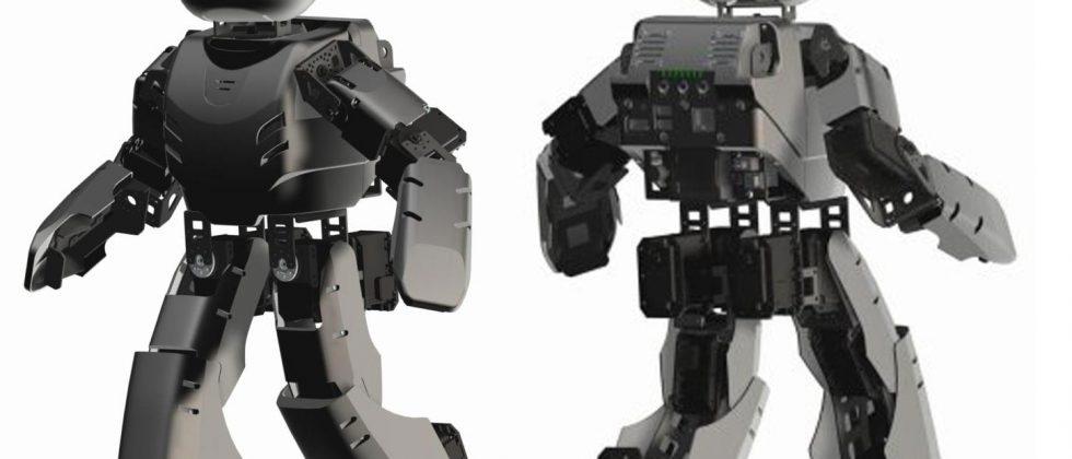 DARwIn-OP open-source DIY robot gets premature reveal