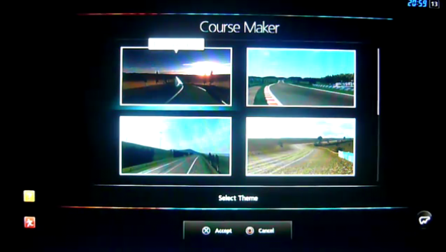 Gran Turismo 5's Course Creation Feature Demoed on Video