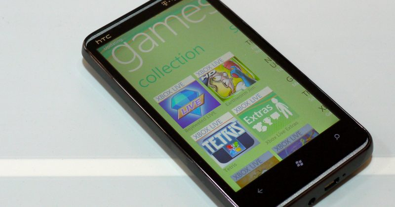 A Week with the HTC HD7: Xbox LIVE & Final Thoughts