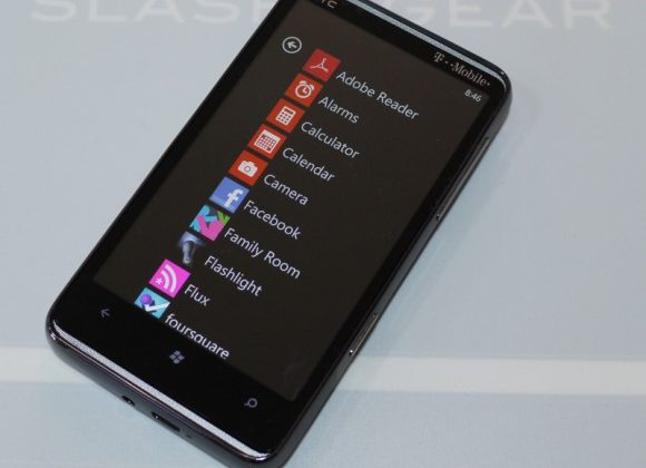 A Week with the HTC HD7: Software