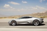 Jaguar C-X75 Features Four Electric Motors