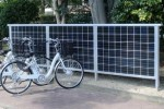 Kyocera Solar Cycle Station Charges Your E-Bike