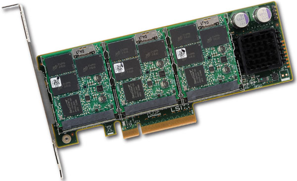 WarpDrive SSD Card Launched by LSI for $11,500