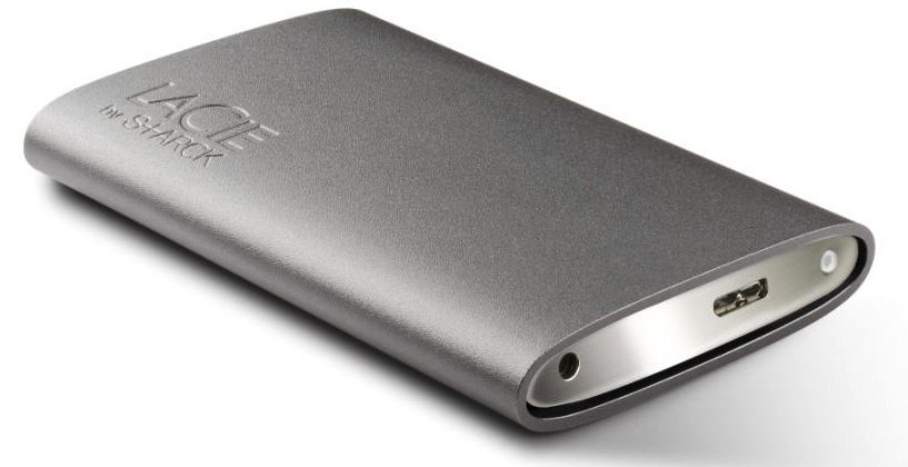 LaCie Starck Mobile USB 3.0 hard-drive is 500GB of curvy storage