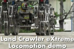 Land Crawler exTreme Uses 12 Legs to Carry 175 Pounds