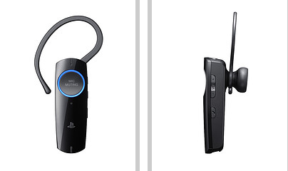 Sony Unveils New Bluetooth Headset For Ps3 Now 30 Smaller Slashgear