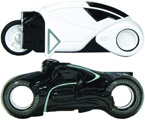 TRON: Legacy Light Cycle USB Drives Light Up When Connected