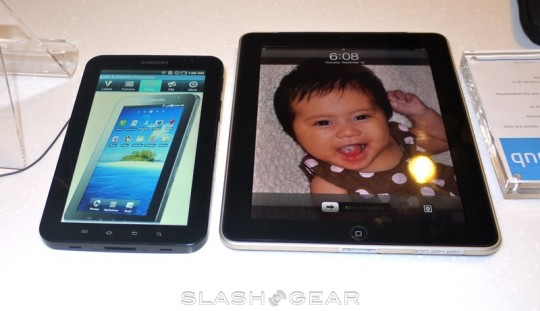 iPad 2 Up, Samsung Galaxy Tab Down & Tablets Out for the Count