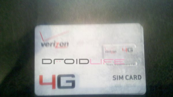 Verizon LTE SIM Cards Showing up in Some Verizon Stores