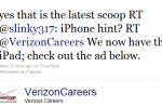 Verizon's Careers Twitter Account Hints at Upcoming iPhone, Maybe