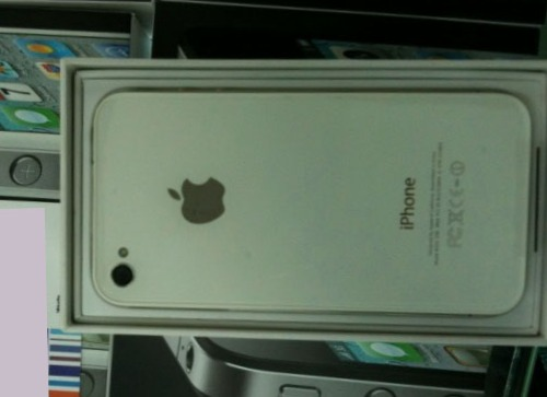 White iPhone 4 on Sale in China