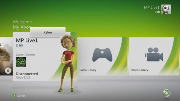 Xbox 360 Dashboard update available