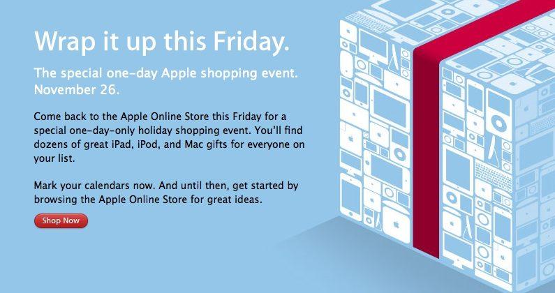 Apple Black Friday teaser promises discounts in US & international stores