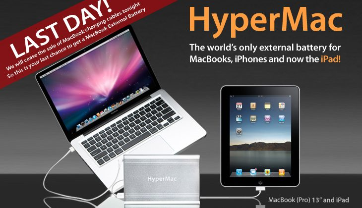 HyperMac rebranding to HyperJuice over Apple legal issues