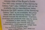 "WiFi-only Galaxy Tab suffering ""manufacturer delay"" tip Best Buy"