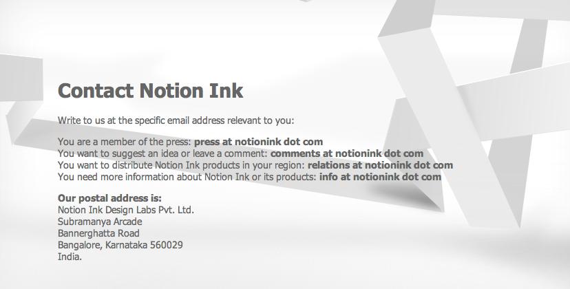 Notion Ink's Adam Tablet Official Website Released