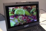 CPT SunLight Viewable display uses 50% less power than LCD [Video]