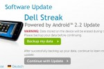 Froyo for Dell Streak due by end of November as OTA update