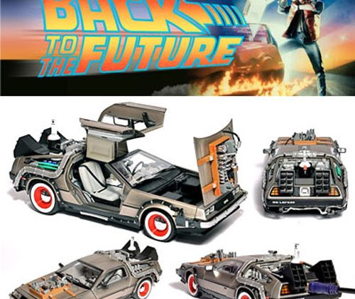 Back to the Future Delorean gets the Flash Rods treatment