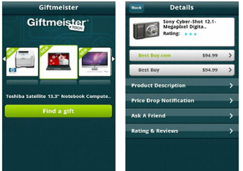 Giftmeister makes shopping easy on Android and iPhone