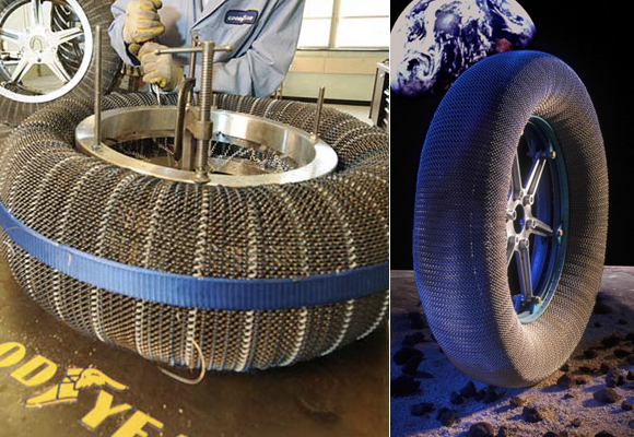 Airless Metal Mesh Tires Awarded R&D 100 Award