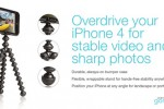 Joby gorillamobile for iPhone 4 lets you take better pics and video