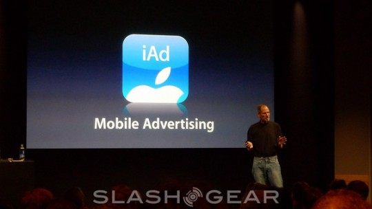 Apple iAd European debut in December; adverts from LG, Nespresso & more