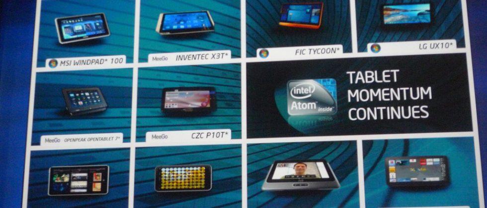 Intel Oak Trail tablet platform in mass production; ARM still not worried