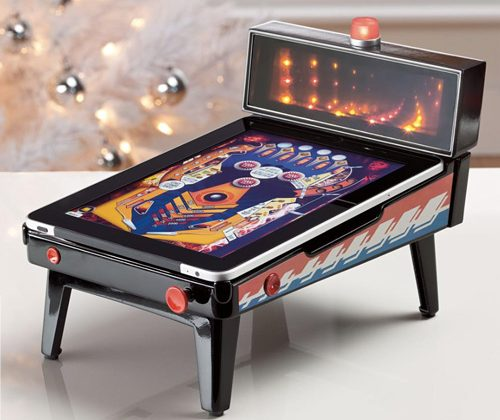 iPad Magic Pinball accessory makes your tablet a table