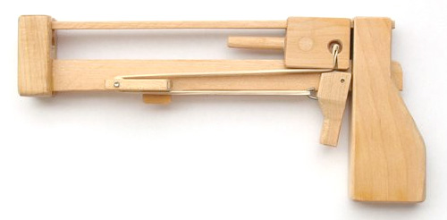 Jenga Pistol for Those Who Wish to Shoot Their Way Out [Video]