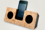 Koostik Wooden iPhone Dock for Olde Fashioned Sound Amplification
