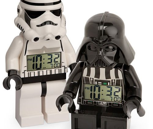 Geeky Lego Minifig Alarm Clock is awesome