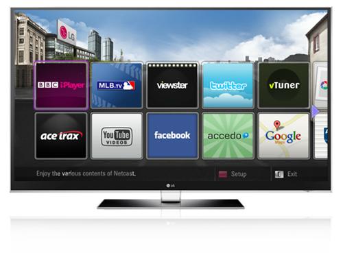 LG HDTV NetCast update adds BBC iPlayer, Facebook, Twitter & more
