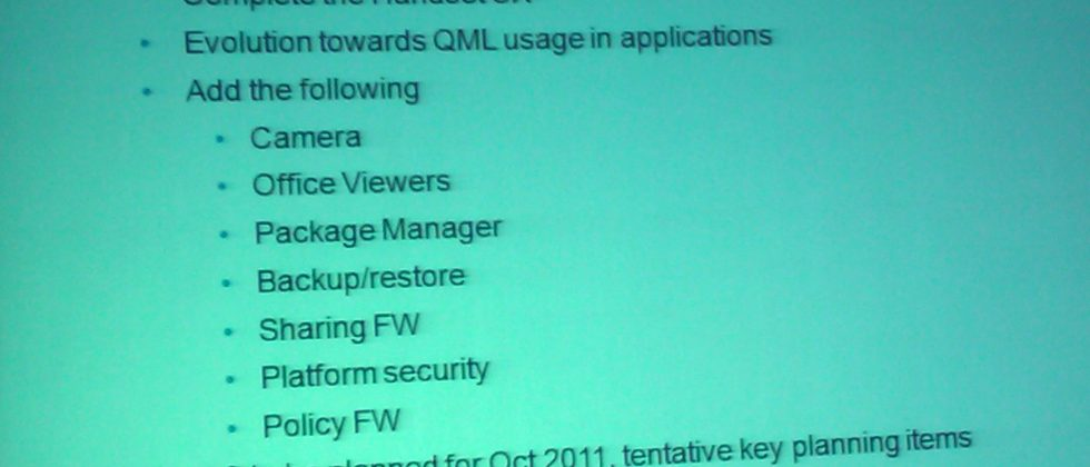 MeeGo roadmap tips no CDMA or LTE support until Oct 2011