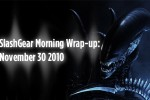 SlashGear Morning Wrap-up: November 30 2010