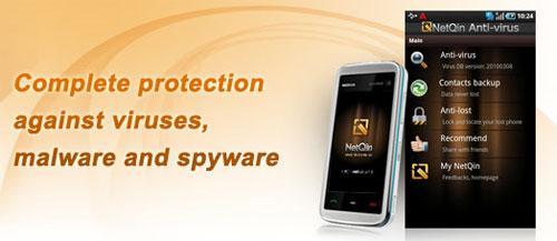 NetQin anti-virus 4.2 beta hits Android Market