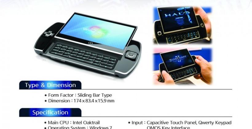 Ocosmos OSC1 Oak Trail tablet detailed: due Q1 2011