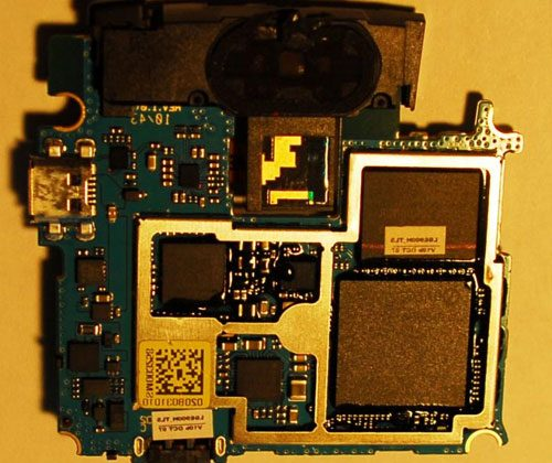 LG Optimus 7 uses NAND flash for storage