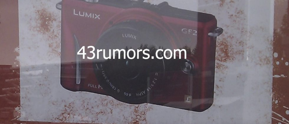 Panasonic LUMIX GF2 pictured ahead of official reveal