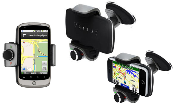 Parrot Releases MINIKIT Smart Smartphone Docking Bay for your Vehicle