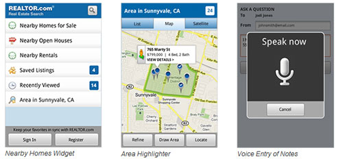 Realtor.com offers house buying app for Android users