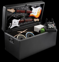 Rock Band storage ottoman debuts from LevelUp
