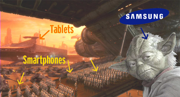 Samsung Predicts Selling 40 Million Smartphones in 2011, plus an Array of Tablets