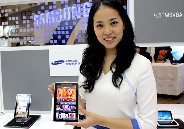 Samsung Super AMOLED production up 10x in 2011 as company posts record small display profit