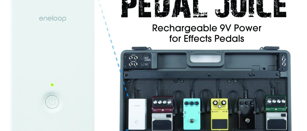 Sanyo Pedal Juice box gives guitarists staying-power
