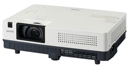 Sanyo unveils new projectors for work and education