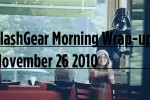 SlashGear Morning Wrap-up: November 26 2010