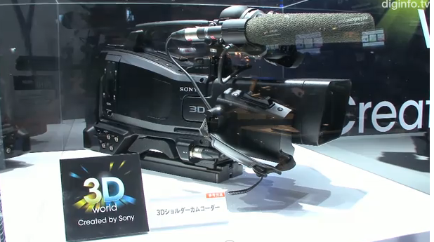 Sony 3D pro camcorder gets new video demo
